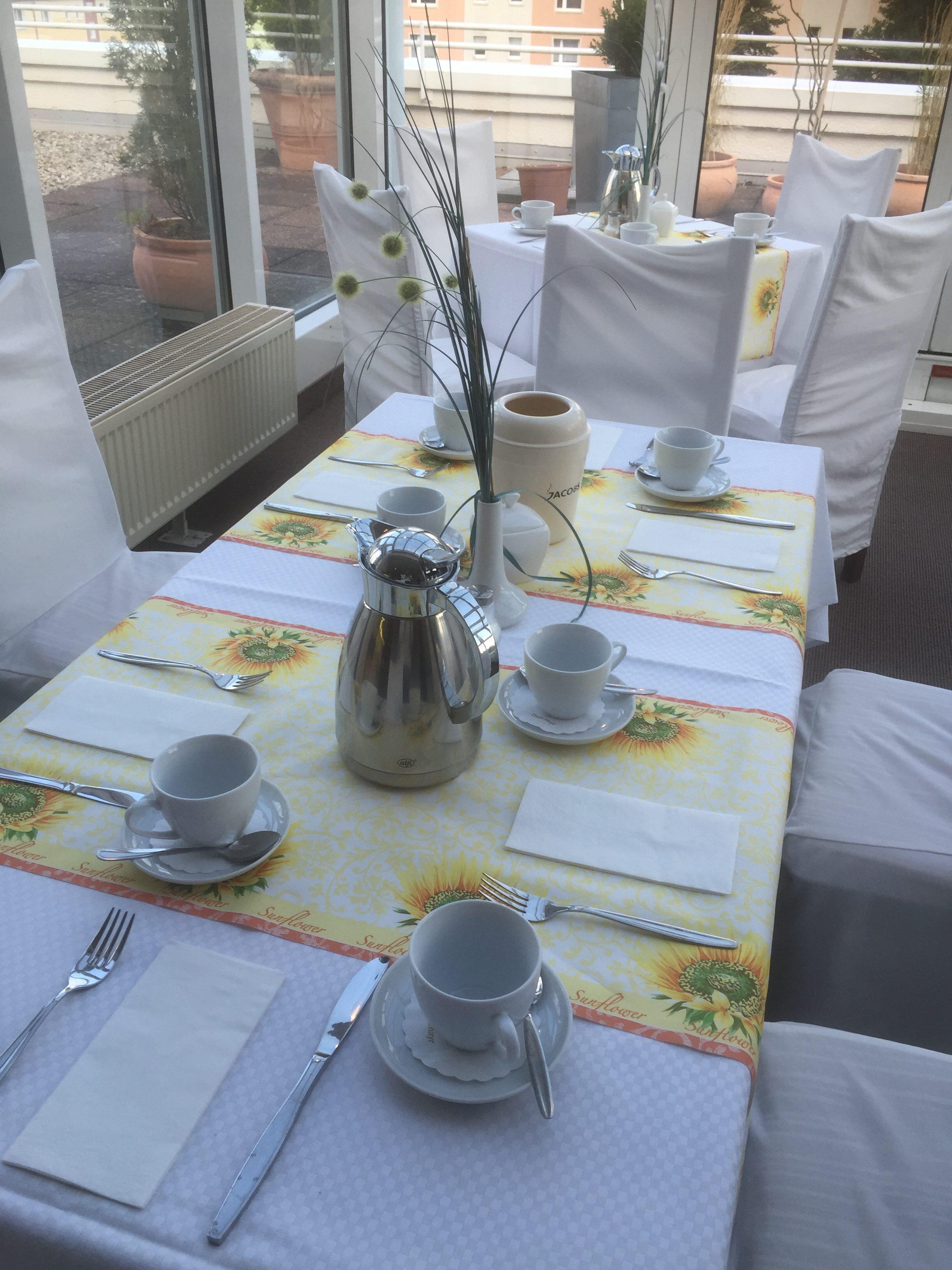 Frühstück im Hotel Leipziger Land