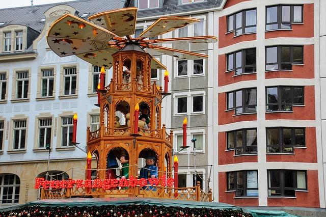 Zum Weihnachtsmarkt nach Leipzig